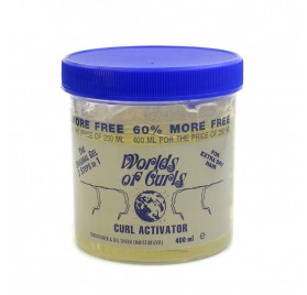 Worlds Of Curls Gel Curl Activator (extra) 400 Ml
