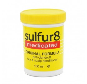 Sulfur8 Medicated Hair Scalp Acondicionador 100 Ml (anti Caspa)
