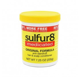 Sulfur8 Medicated Hair Scalp Conditioner 200 Ml (dandruff)