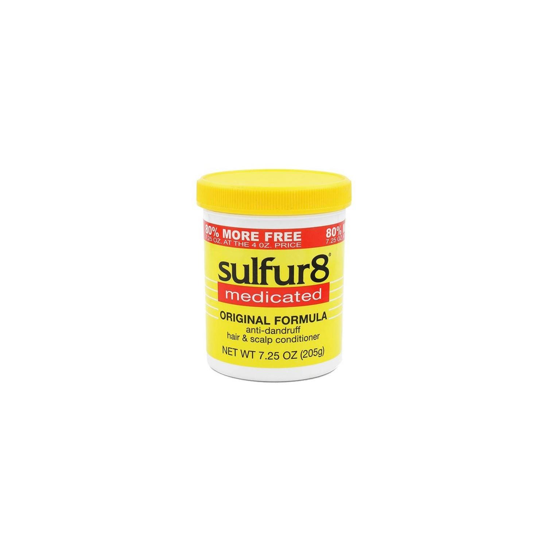 Sulfur8 Medicated Hair Scalp Acondicionador 200 Ml (anti Caspa)