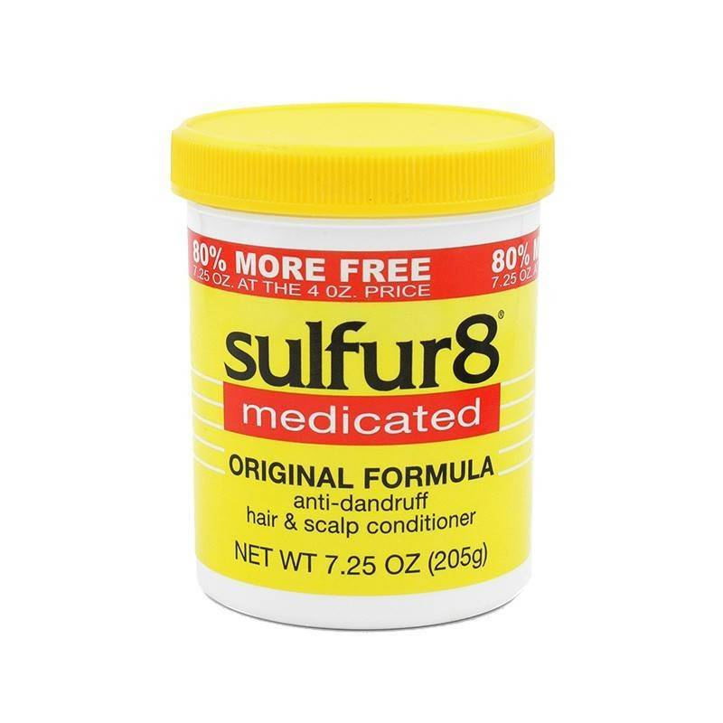 Sulfur8 Medicated Cheveux Scalp Après-shampooing 200 Ml (antipelliculaire)