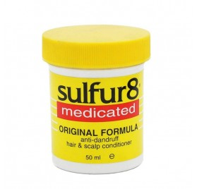 Sulfur8 Medicated Hair Scalp Acondicionador 50 Ml (anti Caspa)