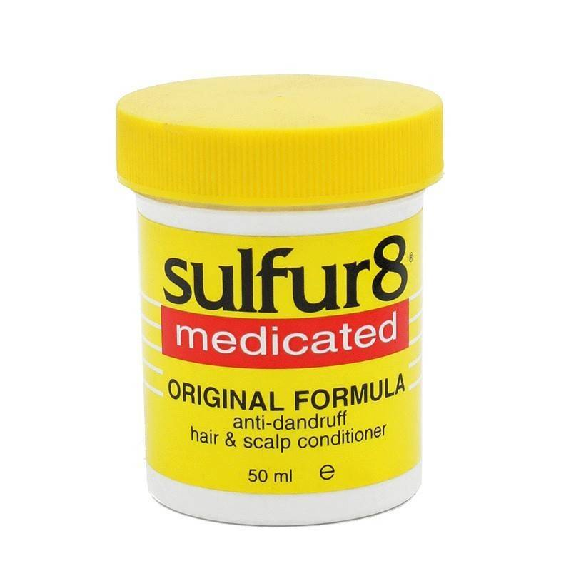 Sulfur8 Medicated Hair Scalp Conditioner 50 Ml (dandruff)