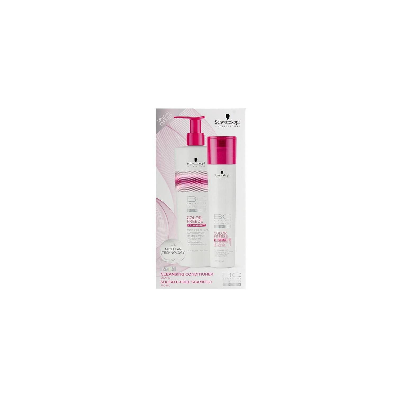 Schwarzkopf Bonacure Color Freeze Pack Duo (shampoo + Conditioner)