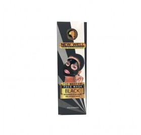 Naturface New Well Black Mask Peel Off (mascarilla Negra) Tubo100 Ml