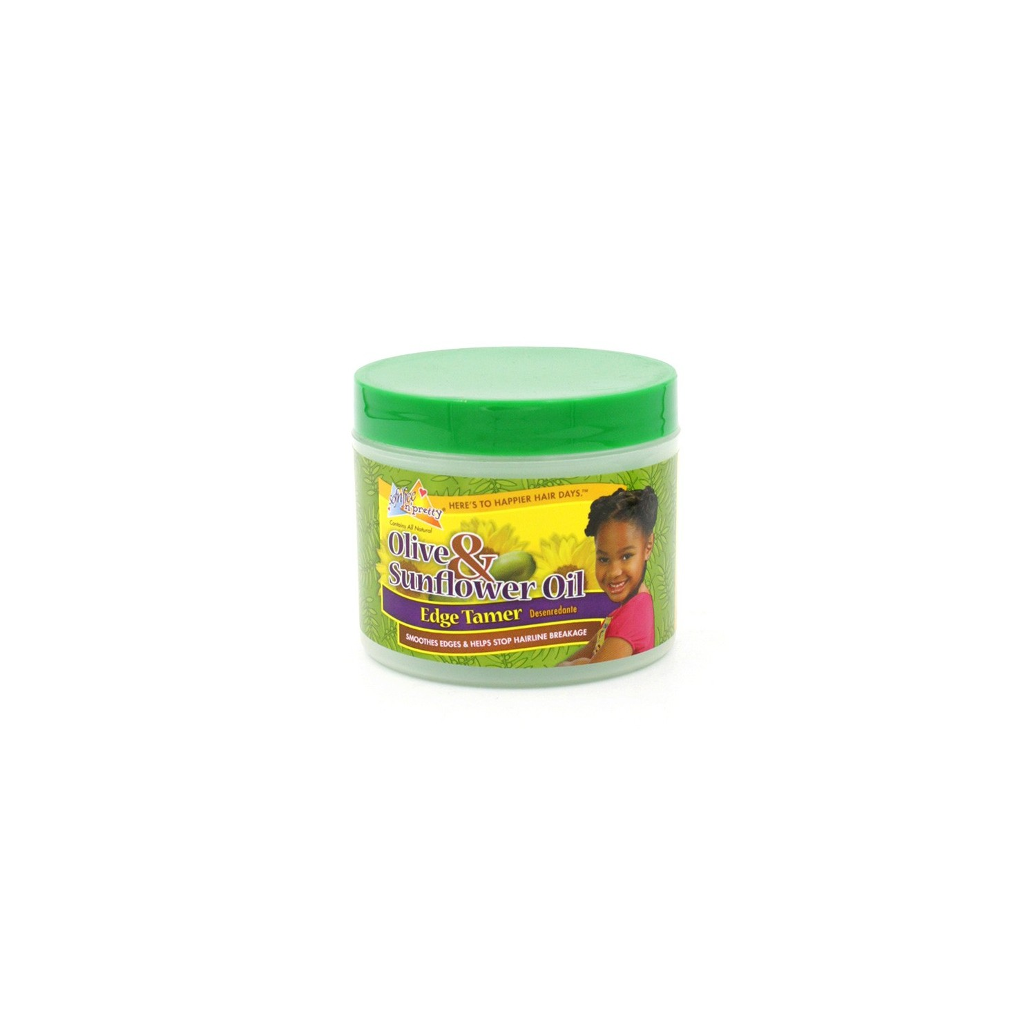 Sofn Free Pretty Olive & Sunflower Oil Edge Tamer 125 Gr