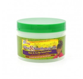 Sofn Free Pretty Olive & Sunflower Oil Cheveux Scalp Nourisher 250 Gr