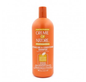 Creme Of Nature Sunflower/coco Champú Detangling Acondicionador Champú 946 Ml