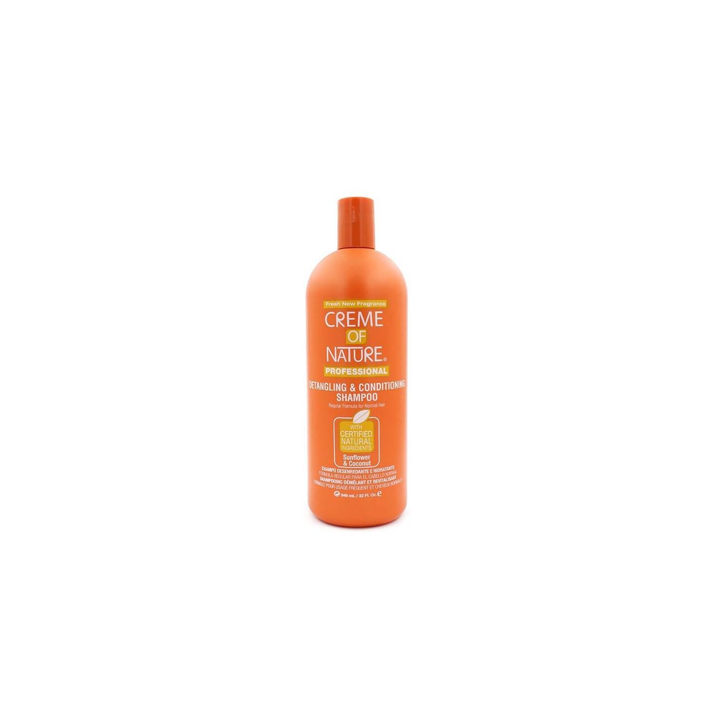 Creme Of Nature Sunflower/coco Shampoo Detangling Condizionatore Shampoo 946 Ml