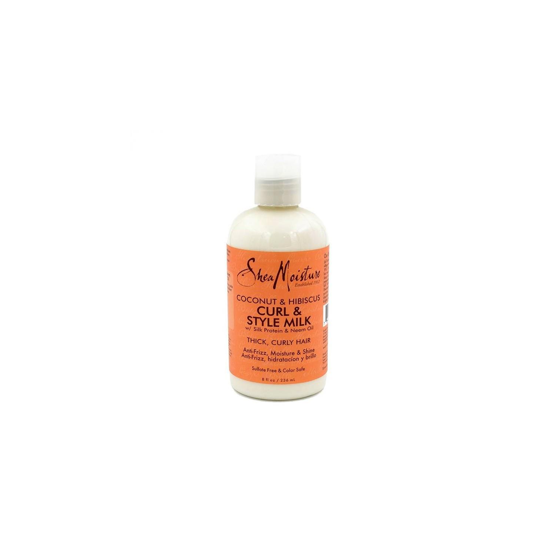 Shea Moisture Coconut & Hibiscus Curl & Style Milk 236 Ml