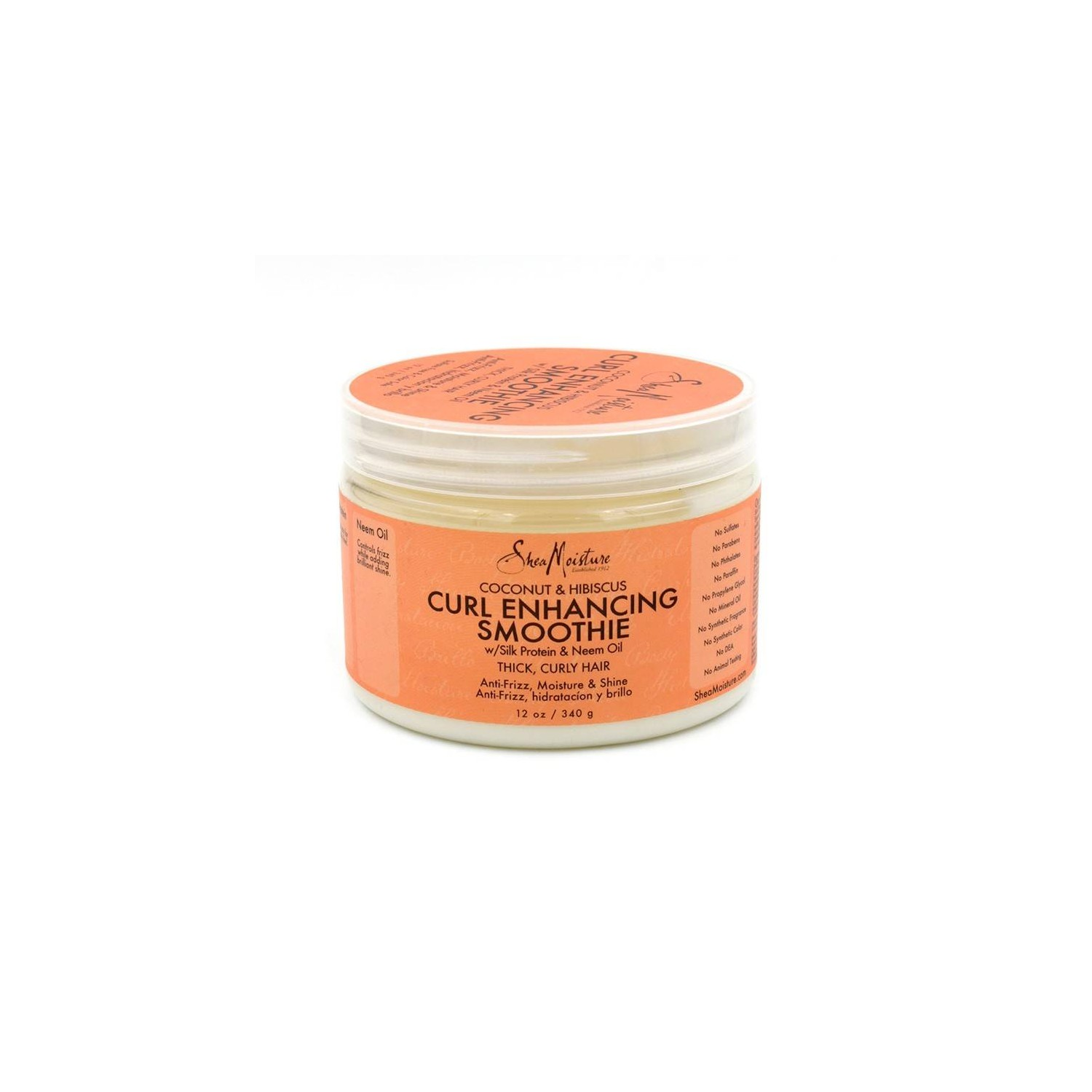 Shea Moisture Coconut & Hibiscus Curl Smoothie 340 G