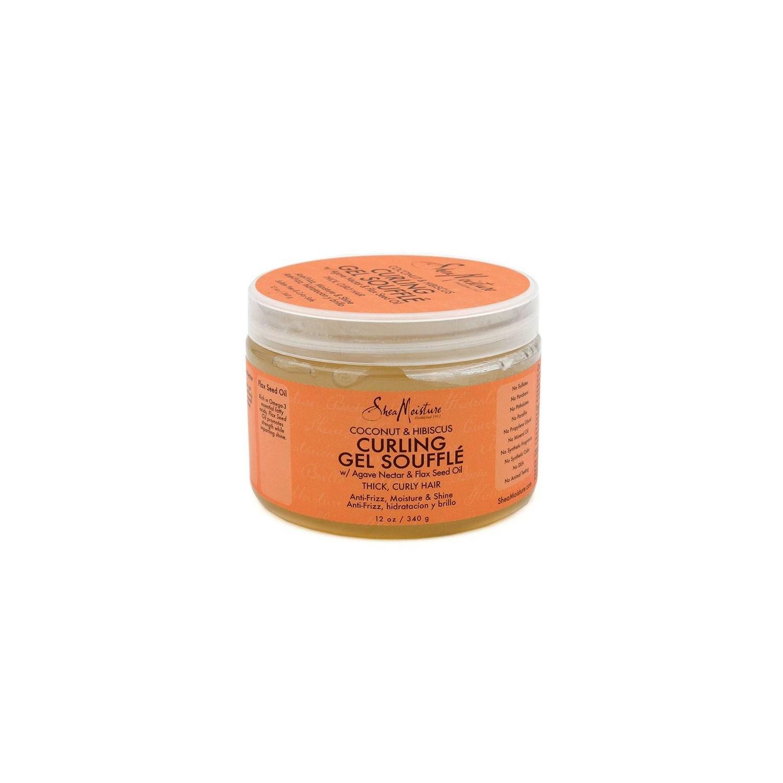 Shea Moisture Coconut & Hibiscus Curl Gel Soufflé 340 G