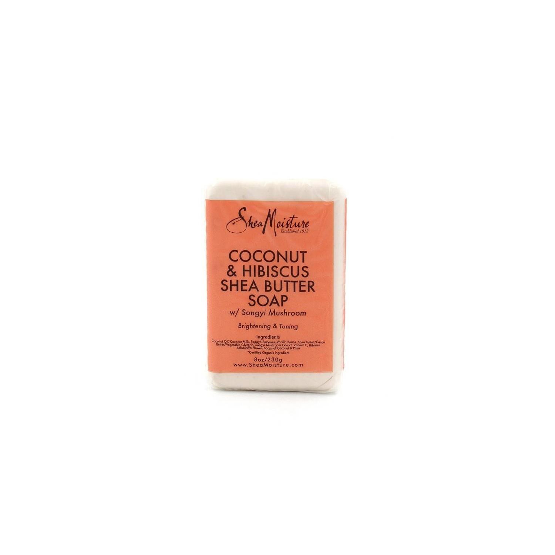 Shea Moisture Coconut & Hibiscus Shea Butter Soap 230 Gr