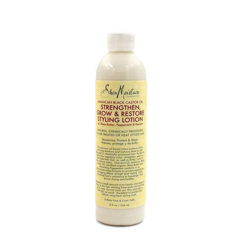 Shea Moisture Jamaican Black Castor Oil Styling Lotion 236 Ml