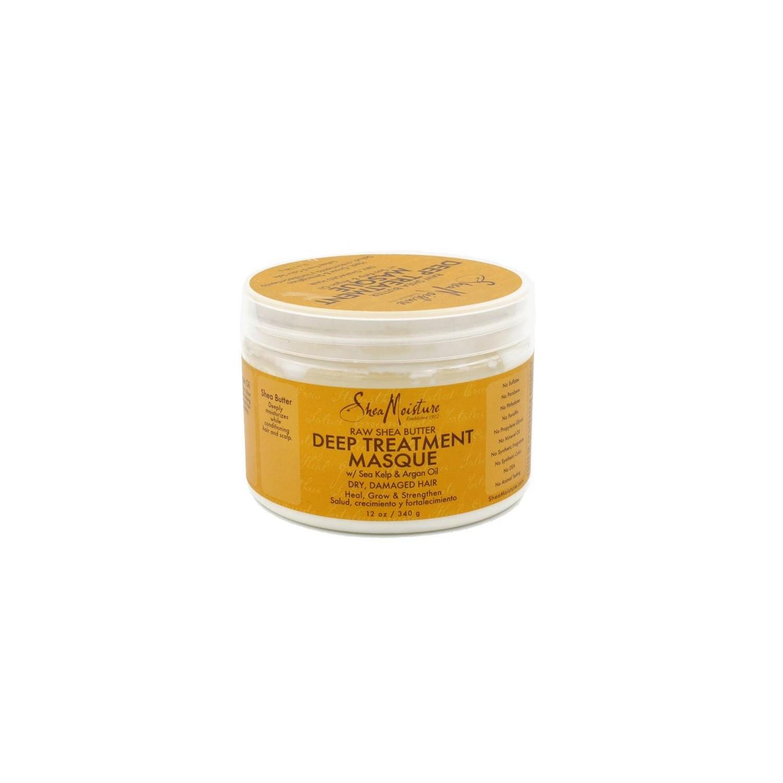 Shea Moisture Raw Shea Butter Mascarilla Deep Tratamiento 340 Gr