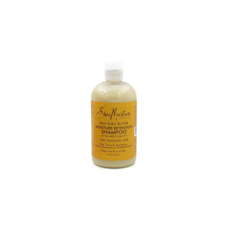 Shea Moisture Raw Shea Butter Shampooing Retention 384 Ml