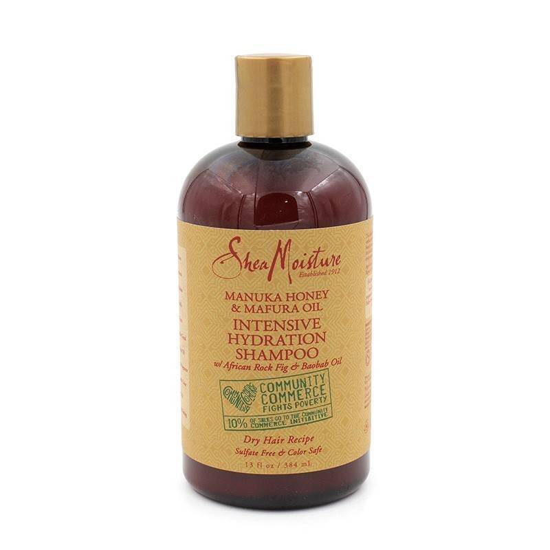 Shea Moisture Manuka Honey & Mafura Oil Intensive Hidaration Champú 384 Ml
