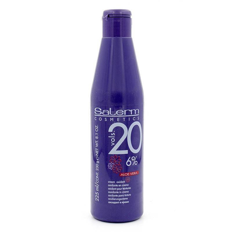 Salerm Oxig 20vol. 6% 225 Ml