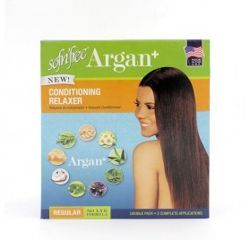 Sofn Free Argan Relaxer Double Pack Regular