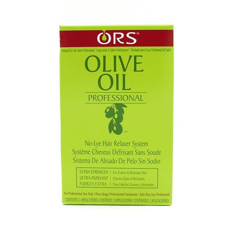 Ors Olive Oil Relaxer Normal 2 Aplic