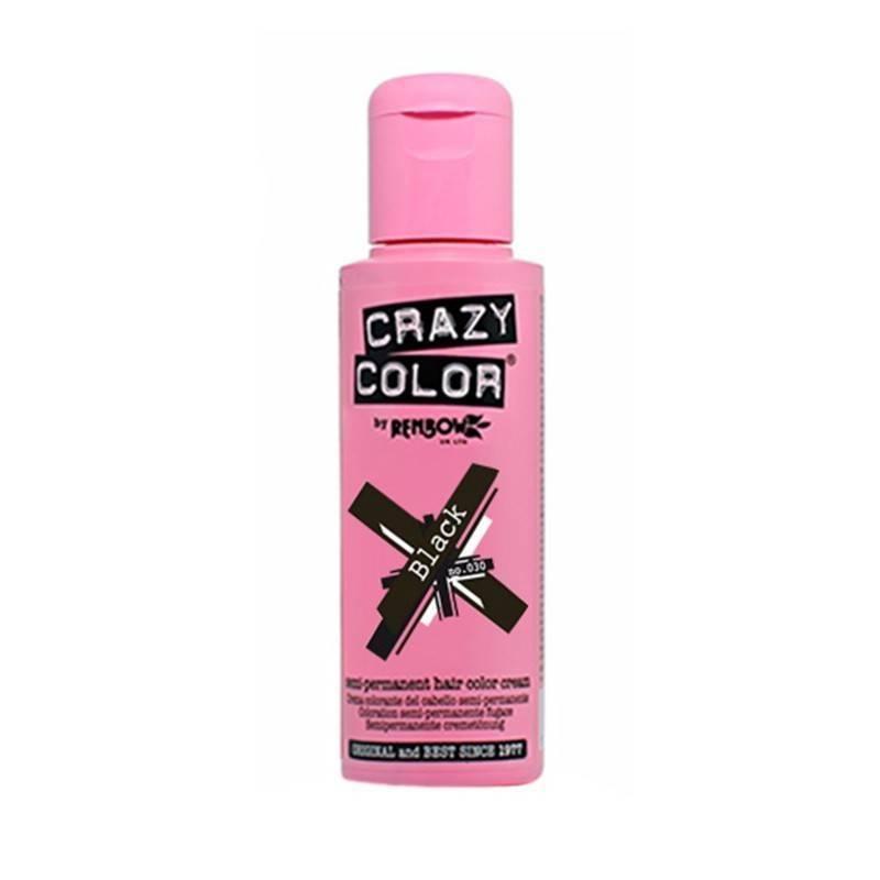 Crazy Color 030 Black 100 Ml