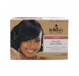 Dr. Miracles No Lye Relaxer Kit Super