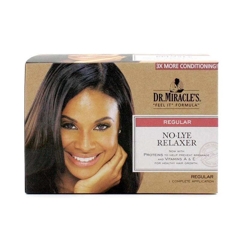 Dr. Miracles No Lye Relaxer Kit Regular