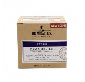 Dr. Miracles Damaged Hair Medicated Tratamiento 339 Gr
