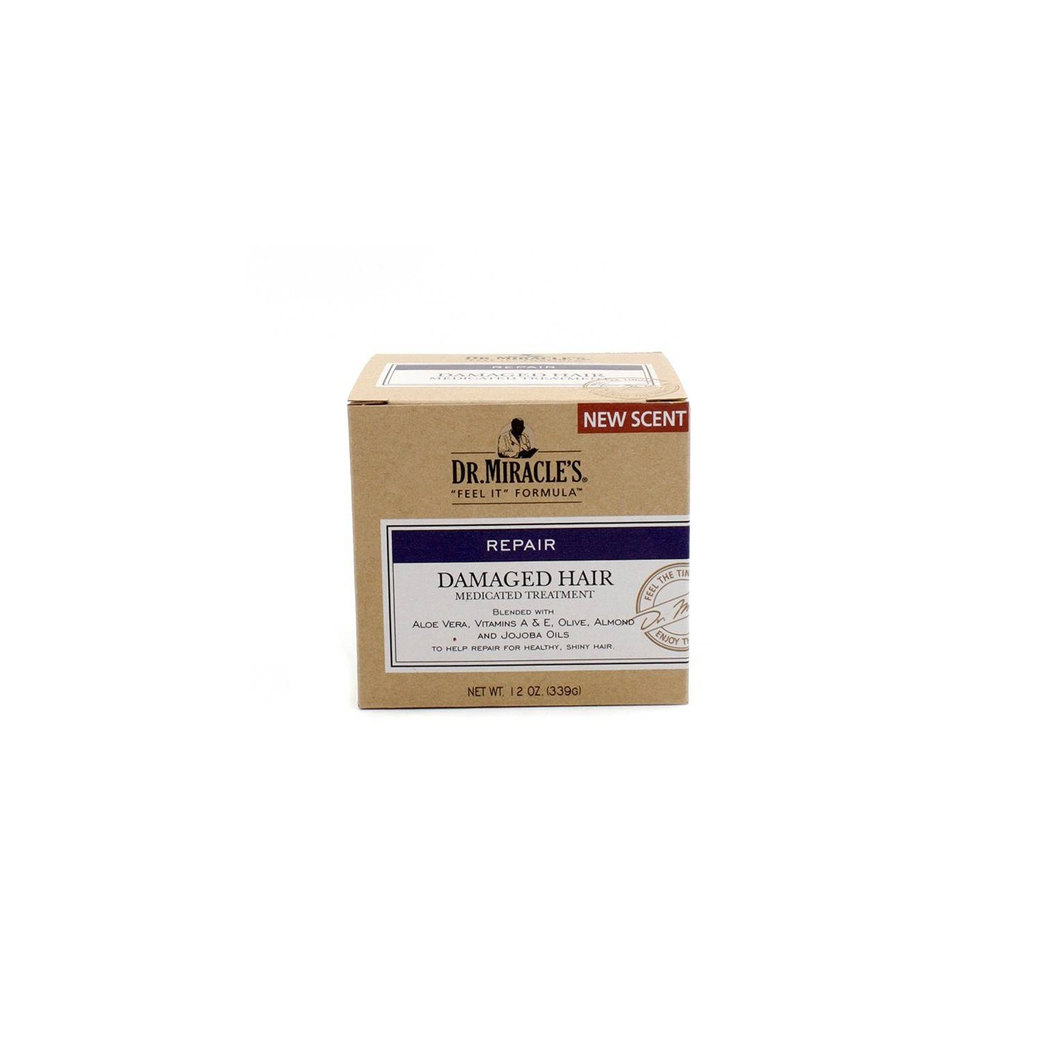 Dr. Miracles Damaged Hair Medicated Treatment 339 Gr