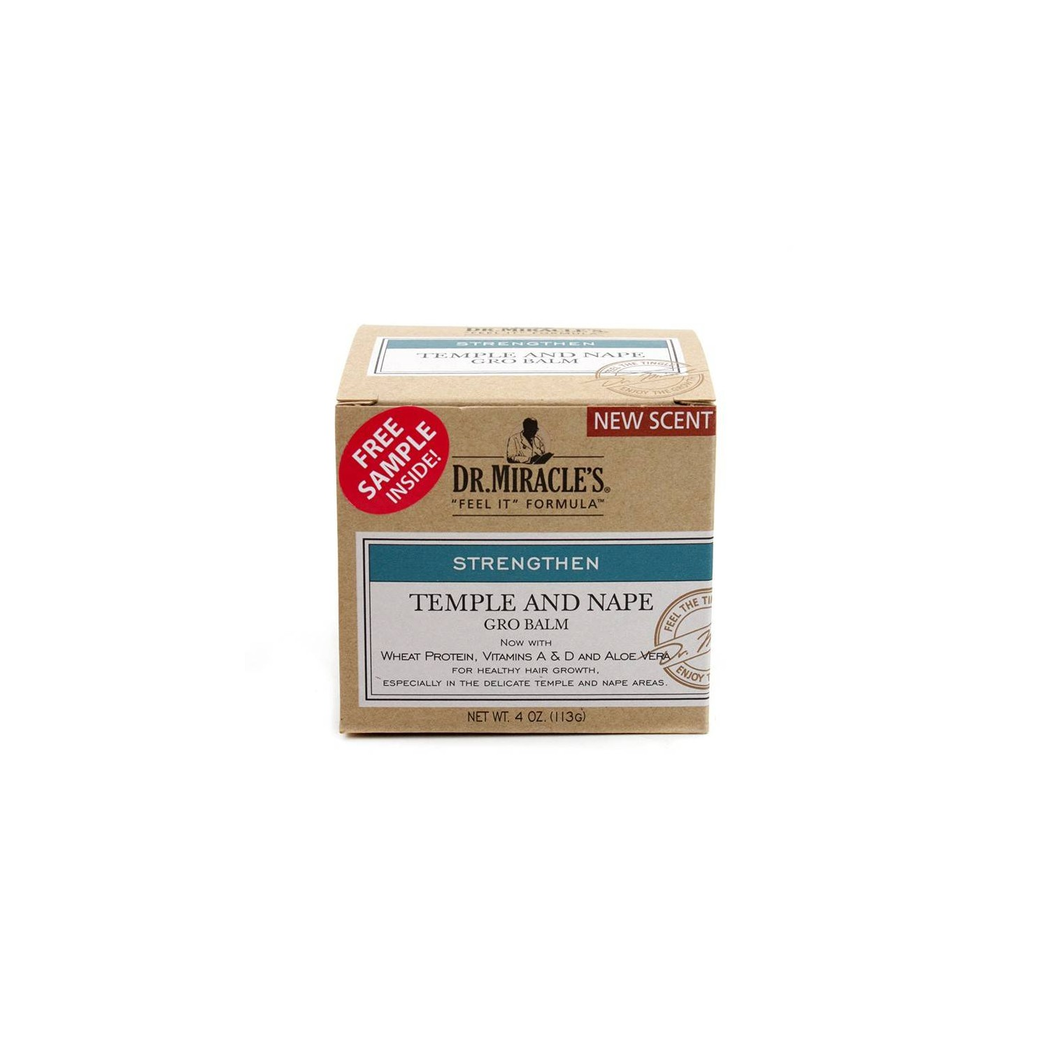 Dr. Miracles Temple And Nape Gro Balm Regular 113 Gr