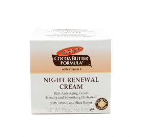 PALMERS COCOA BUTTER FORMULA NIGHT RENEWAL CREAM 75 G