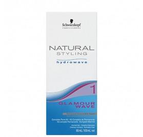 Schwarzkopf Naturale Styling Glamour Wave Kit (1) 80+100 Ml