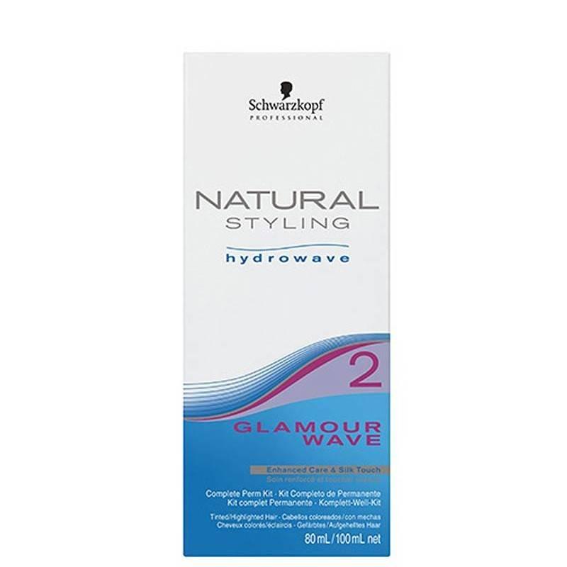 Schwarzkopf Natural Styling Glamour Wave Kit (2) 80+100 Ml