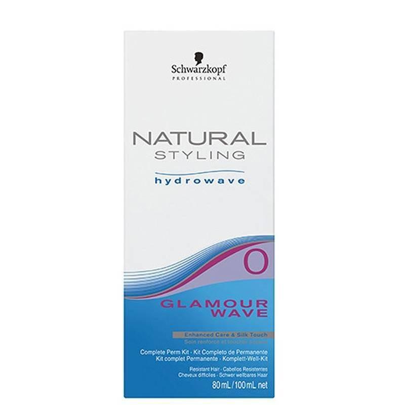 Schwarzkopf Naturel Styling Glamour Wave Kit (0) 80+ 100 Ml