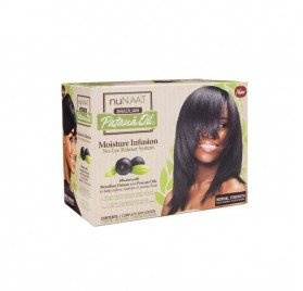 Nunaat Pataua Oil Relaxer Kit Normal 1 Aplicación