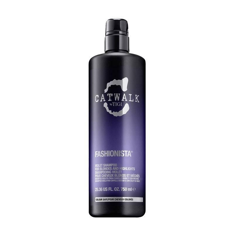 Tigi Catwalk Fashionista Shampoo Violet 750 Ml