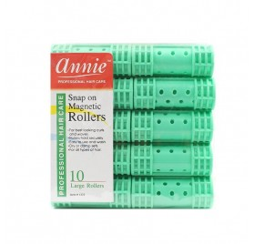 Annie Rollers Mag Green (10/large) 1222