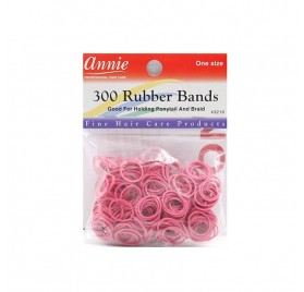 ANNIE 300 RUBBER BANDS ROSA 3219 (GOMAS)