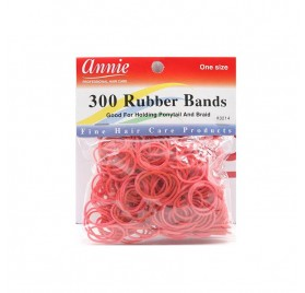 Annie 300 Rubber Bands Red 3214 (rubbers)