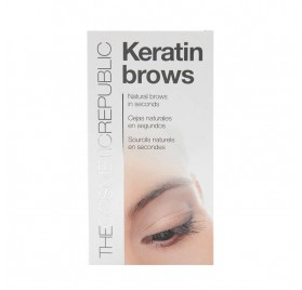 The Cosmetic Republic Keratin Brows Kit Châtain Fonce