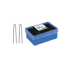 Eurostil 400 Pins Hairbun Black 65mm (01617/50)
