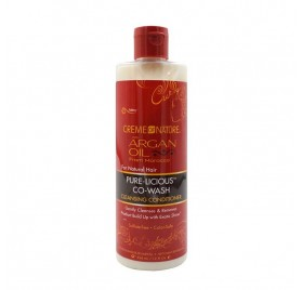 Creme Of Nature Argan Oil Pure-licious Co-wash 354ml