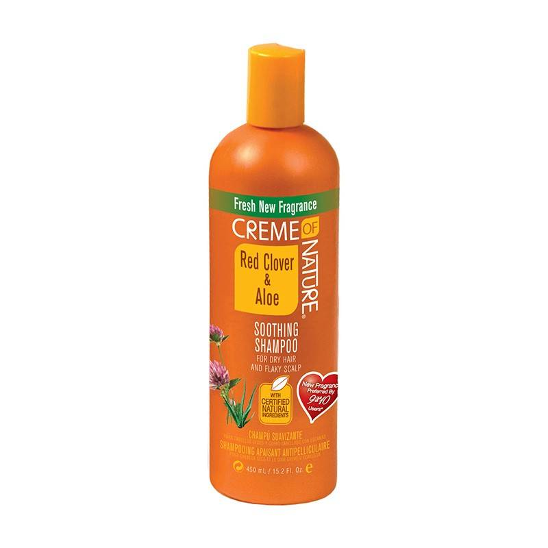 Cream Of Nature Red clover/aloe Soothing Shampoo Scalp Relief 450 Ml