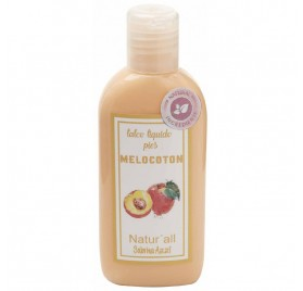 Sabrina Natur All Liquid Talc Foot Peach 100 ml
