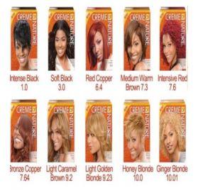 Cream Of Nature Argan Color Light Caremel Brown 9 2