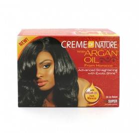 Cream Of Nature Argan Oil Relaxer Kit Super
