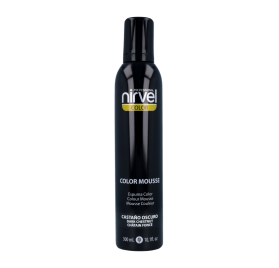 Nirvel Color Mousse Castaño Oscuro 300 Ml