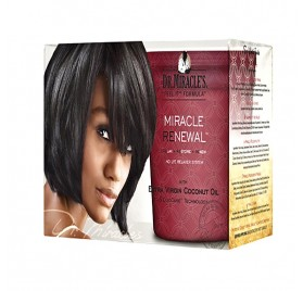 Dr.Miracle Renewal No Lye Relaxer Extra-Virgin Coconut Oil Super