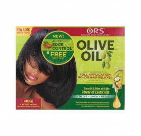 Ors Olive Oil Relaxer Kit Normal (Olive+Shea+Pequi)