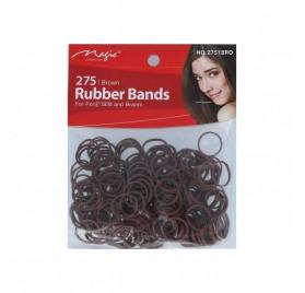 Magic Rubber Bands Brown (2751Bro)